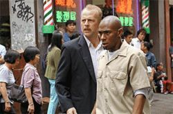 Everything is recycled in this mawkish cliché engine, starring Bruce Willis and Mos Def.
