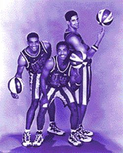 The Globetrotters.