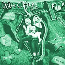 Fly girls: The Dixie Chicks display a sense of humor on their Web site.