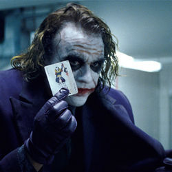 Heath Ledger seems to make the film grow larger whenever he's onscreen.