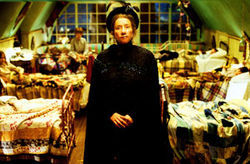Emma Thompson looks like a horned frog in Nanny  McPhee.