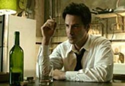 Casting Keanu Reeves wasn't a great idea, but  Constantine is still much, much better than The  Matrix.