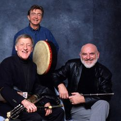 Hail to the Chieftains (l-r): Paddy Moloney, Kevin Connef and Matt Malloy.