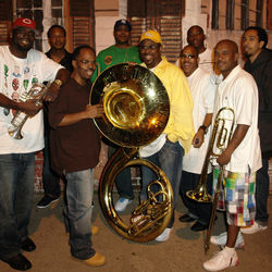 Most of Rebirth came out of the marching band at Clark High School in Treme.