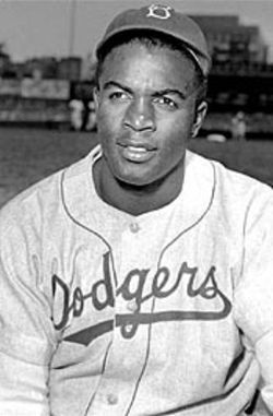 Jackie Robinson wrote a supportive letter to Ellis after  he'd become one of the most reviled players in the  league.