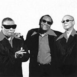 Alabama Air Force: The Blind Boys and their lapels.
