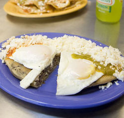 For more authentic huaraches, you'll have to travel to Mexico City.