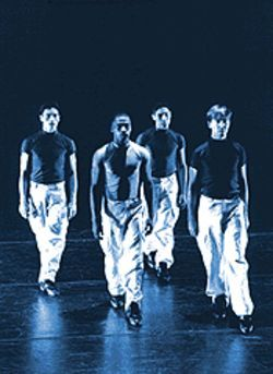 Hunky boys, dull dancing: The Houston Met's Fly.