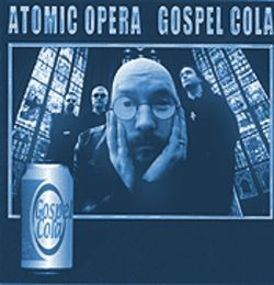 Does Atomic Opera qualify as Christian rock even though the band, through its lyrics and the voice of front man Frank Hart (center), criticizes the religion?