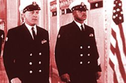 Billy(Robert De Niro) and Carl(Cuba Gooding Jr.) show the worst and best of the navy.