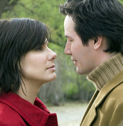 Keanu Reeves and Sandra Bullock reunite to play a couple of sad sacks.