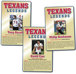 "Thanks for the memories: Three Texans ""legends"""