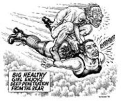 R. Crumb&#039;s Big Healthy Girl Enjoys Deep Penetration from the Rear 