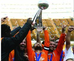 The Dynamo won a title in their first Houston season.