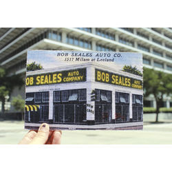 Bob Seales Auto Co &amp;mdash; 1517 Milam Street at Leeland.