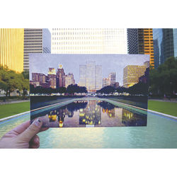 City Hall Reflection Pool - City Hall 808 Bagby.