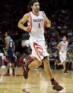 Forward Luis Scola is the only current Rocket who has been in Houston for the entire Daryl Morey era.