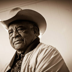 Jamie Francies Jr., 81, of Abilene, the first black man to organize a trail ride to the Houston Livestock Show and Rodeo, put together the Prairie View Trail Ride in 1958. The ride is still in existence today.