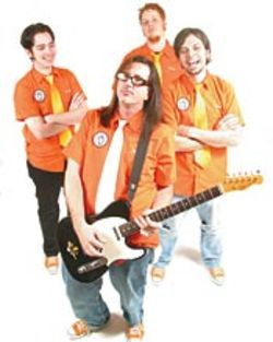 Clockwise from left:  Kelly Doyle, Brian Davis, Jason  McMaster and Michael Haaga.