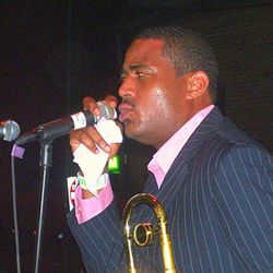 Glen David Andrews, scion of a famed New Orleans music family