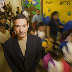 One-third of the 300 students at J. Will Jones Elementary are homeless, and the number is growing. Principal Brian Flores says homeless families have trouble finding the right help on their own.