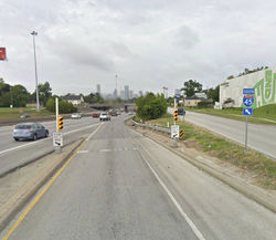 The Patton entrance to I-45 South can be death-defying, which is why it's No. 6 on our list.