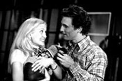 If only they were Hawn and Chase… Hudson and McConaughey try to be adorable.