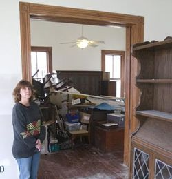 Molly Dannenmaier spent much of 2008 installing a downstairs handicapped suite for her mother. She finished just in time to see it destroyed, along with most of her mother's heirlooms.
