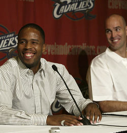 The media applauded Cavs GM Danny Ferry when he gave Jones $16 million for four years.