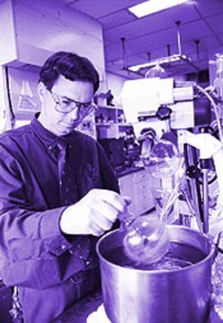 Organic chemist Charles Garner is one of the few hard scientists at Baylor who supports Dembski's work.