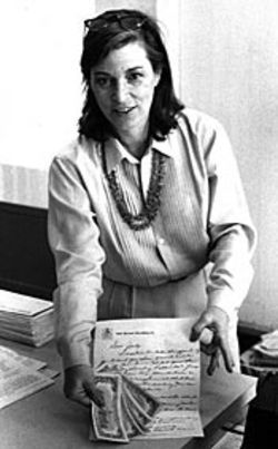 Lunn (shown in this &#039;80 photo) received several 