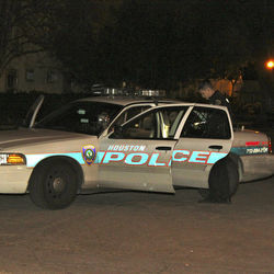 HPD squad cars were a common sight outside Boondocks this past winter.