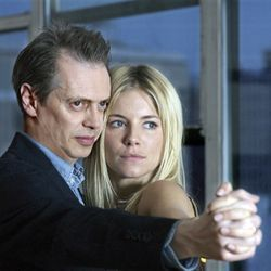 Are these two (Steve Buscemi and Sienna Miller) lying to themselves, each other or just us?