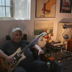 Portrait of the artist at rest: Daniel Johnston at home in Waller.