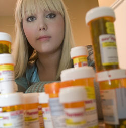 Laura Howard couldn't take her meds in the New Choices rehab program at the Harris County Jail.