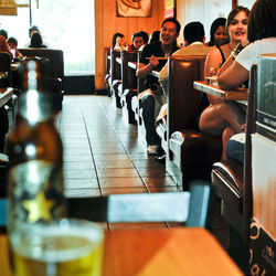 With Japanese beer and sushi this cheap, happy hour at Oishii stays packed.