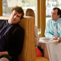 Jason Segel plays Jeff, a slacker who wants to stand tall.