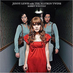 Jenny Lewis with the Watson Twins' Rabbit Fur Coat