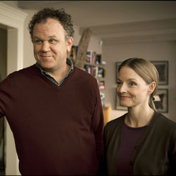 John C. Reilly as Michael Longstreet and Jodie Foster as Penelope Longstreet.