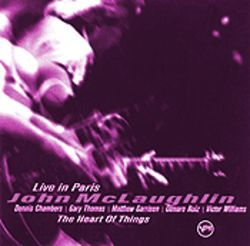 The restless heart of John McLaughlin makes it to Paris.