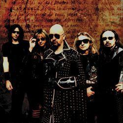 The future's not so bright, but Judas Priest wears shades anyway.