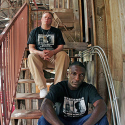 Lightnin' Malcolm (left) and Cedric Burnside: Deep in the Delta Groove.