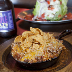 The chili cheese mac is a thing of beauty, and the wedge salad is a meal in itself.