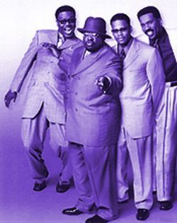 Make way for the kings: Bernie Mac, Cedric the Entertainer, D.L. Hughley and Steve Harvey.