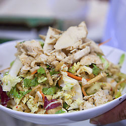 Chicken salad at benjy's.