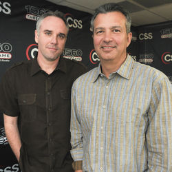 Lance Zierlein (left) and John Granato&#039;s (right) morning show is the heartbeat of the station and the source of the infamous &quot;double rods&quot; story.