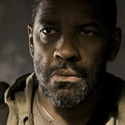 Eli (Denzel Washington) is protecting precious cargo: the last copy of the Bible.
