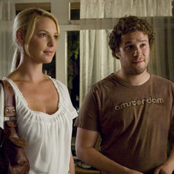 A one-night stand turns into love for Alison and Ben (Katherine Heigl and Seth Rogen).