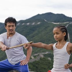 If Jaden Smith (with Jackie Chan) doesn't become a star, it won't be for lack of support.