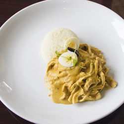 The traditional aji de gallina is updated for a modern crowd at Latin Bites.